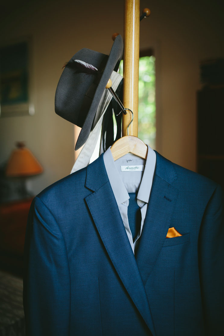 Details of groom getting ready for Stinson Beach wedding by Becca Henry Photography