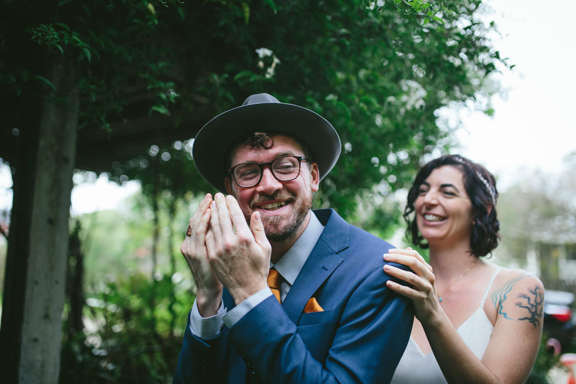 First look at Stinson beach wedding by Becca Henry Photography