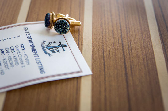 Wedding detail- groom's cuff links by Becca Henry Photography