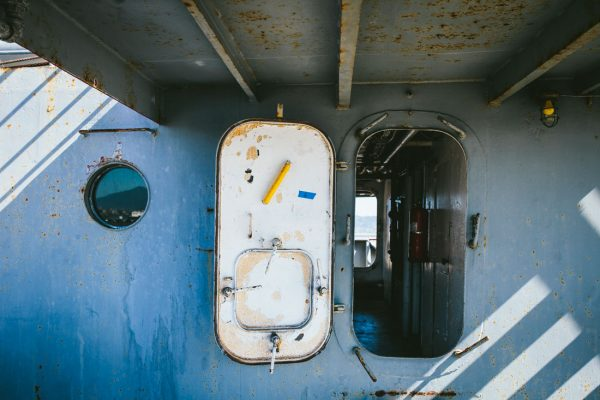 Abstract photo of ship - a wedding detail by Becca Henry Photography