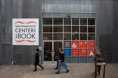 Visual branding for San Francisco Center for the Book- by Becca Henry Photography