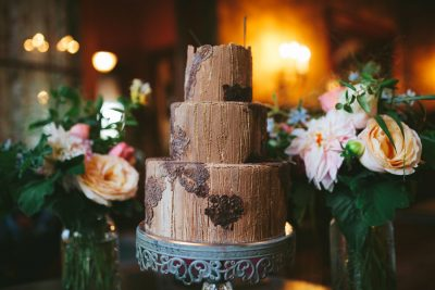 Beautiful wedding cake in San Rafael by Becca Henry Photography