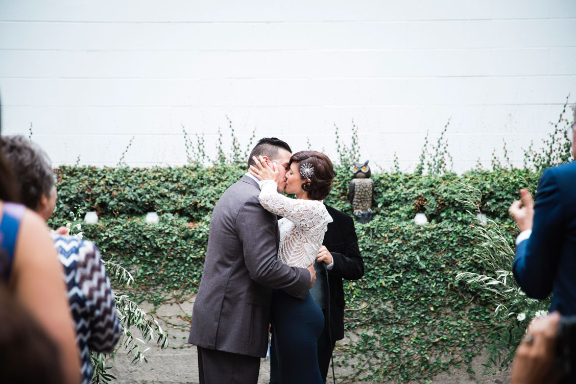Wedding at the Foreign Cinema in San Francisco by Becca Henry Photography