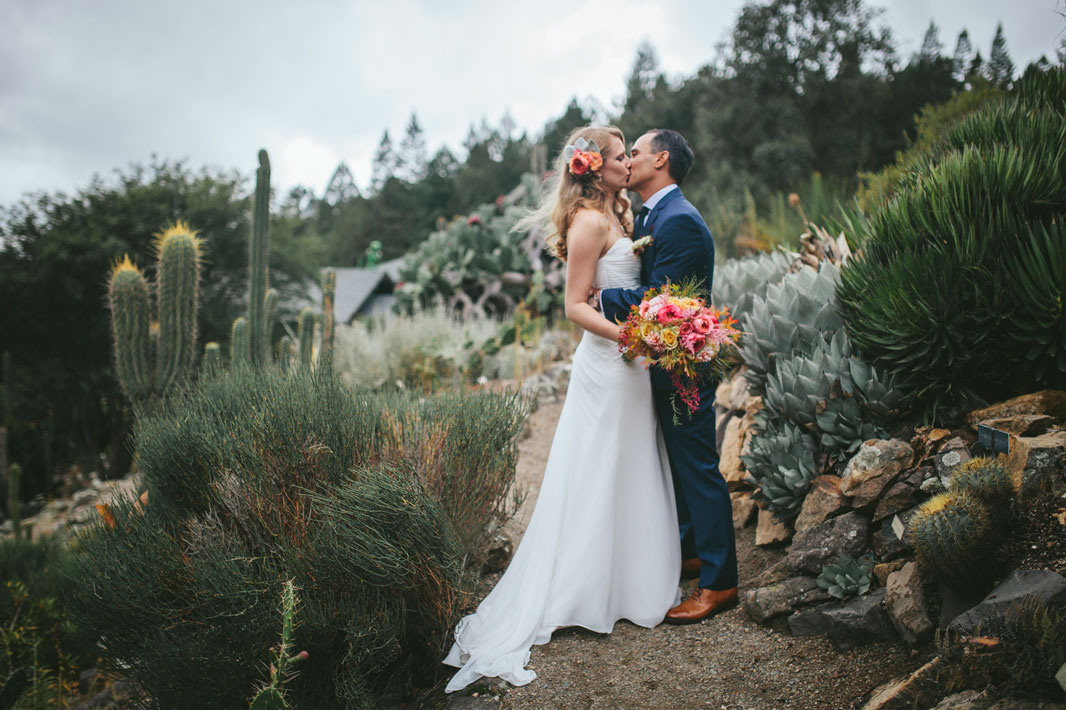 Wedding photography at Berkeley Botanical Garden by Becca Henry Photography