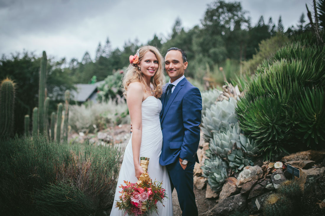 Berkeley Botanical Garden Wedding by Becca Henry Photography