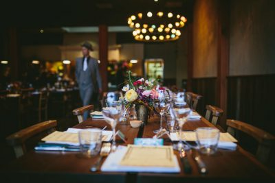 Oakland reception at delicious El Camino by Becca Henry Photography