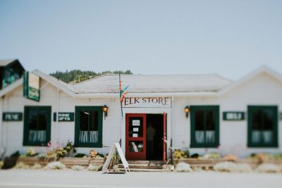 Mendocino wedding details-quaint store in town- by Becca Henry Photography