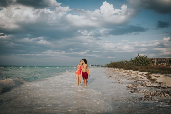 Isla holbox engagement photography- destination elopement - by Becca Henry Photography