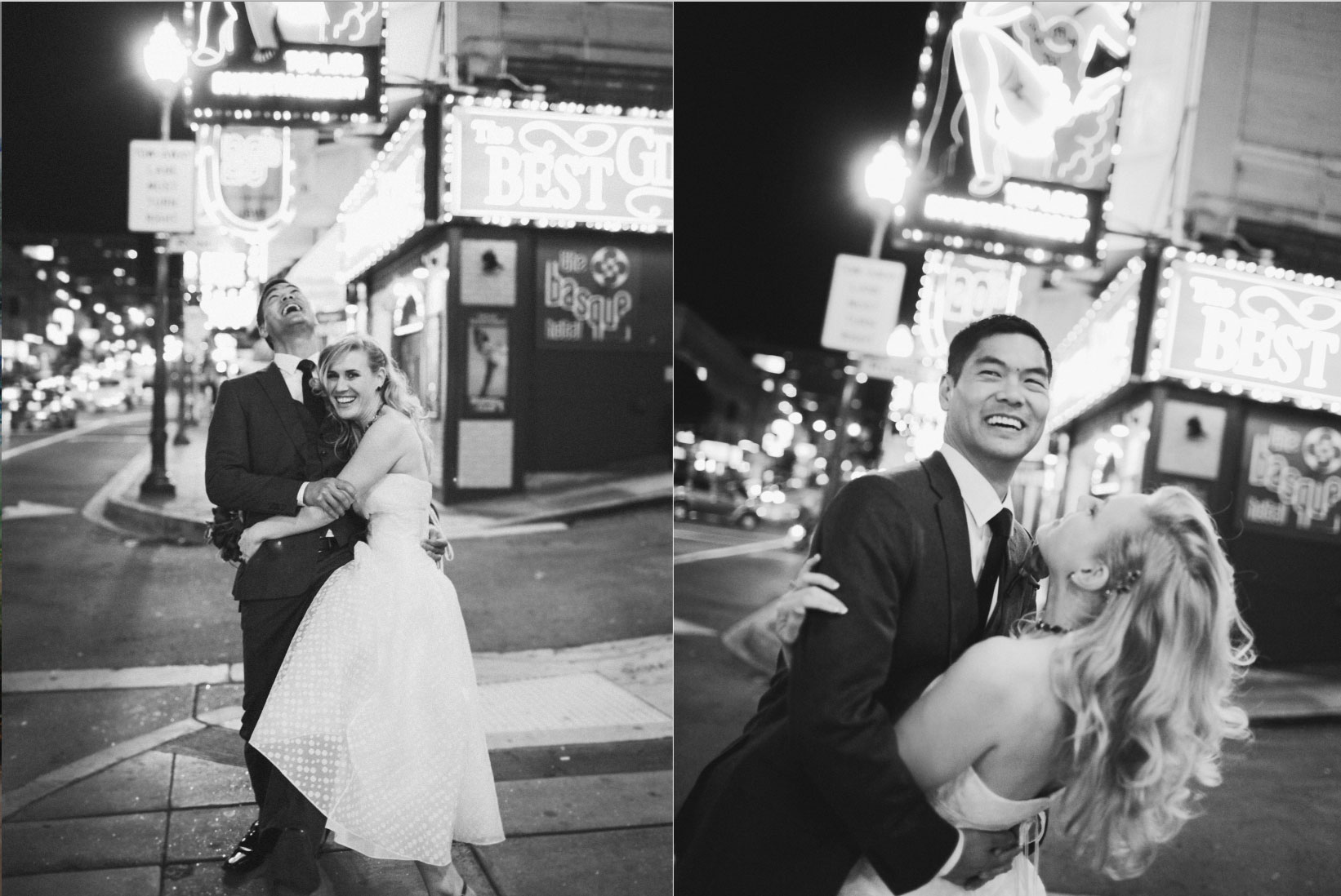 San Francisco urban wedding by Becca Henry