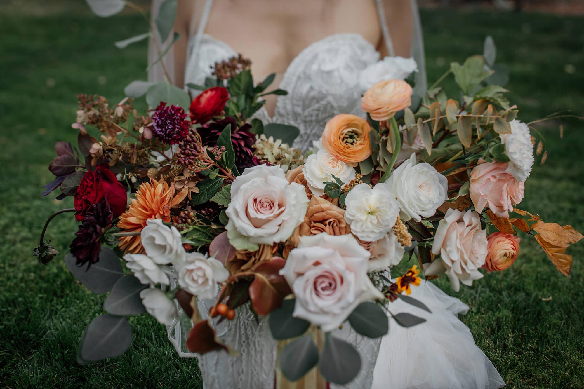 Beautiful bouquet for St Helena Wedding.