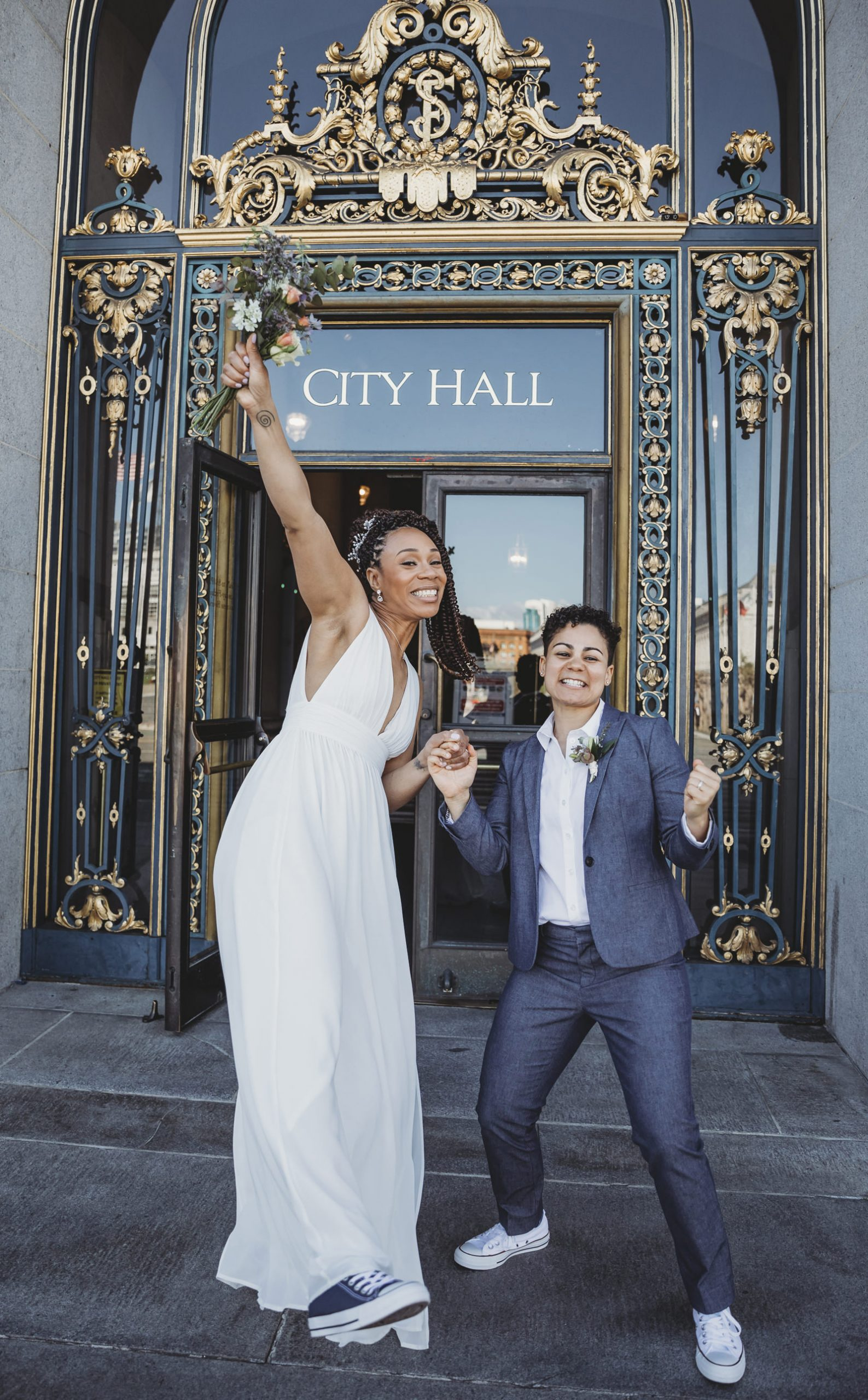San Francisco City Hall Wedding - Golden Gate Park -Ocean Beach- Becca Henry Wedding Photography