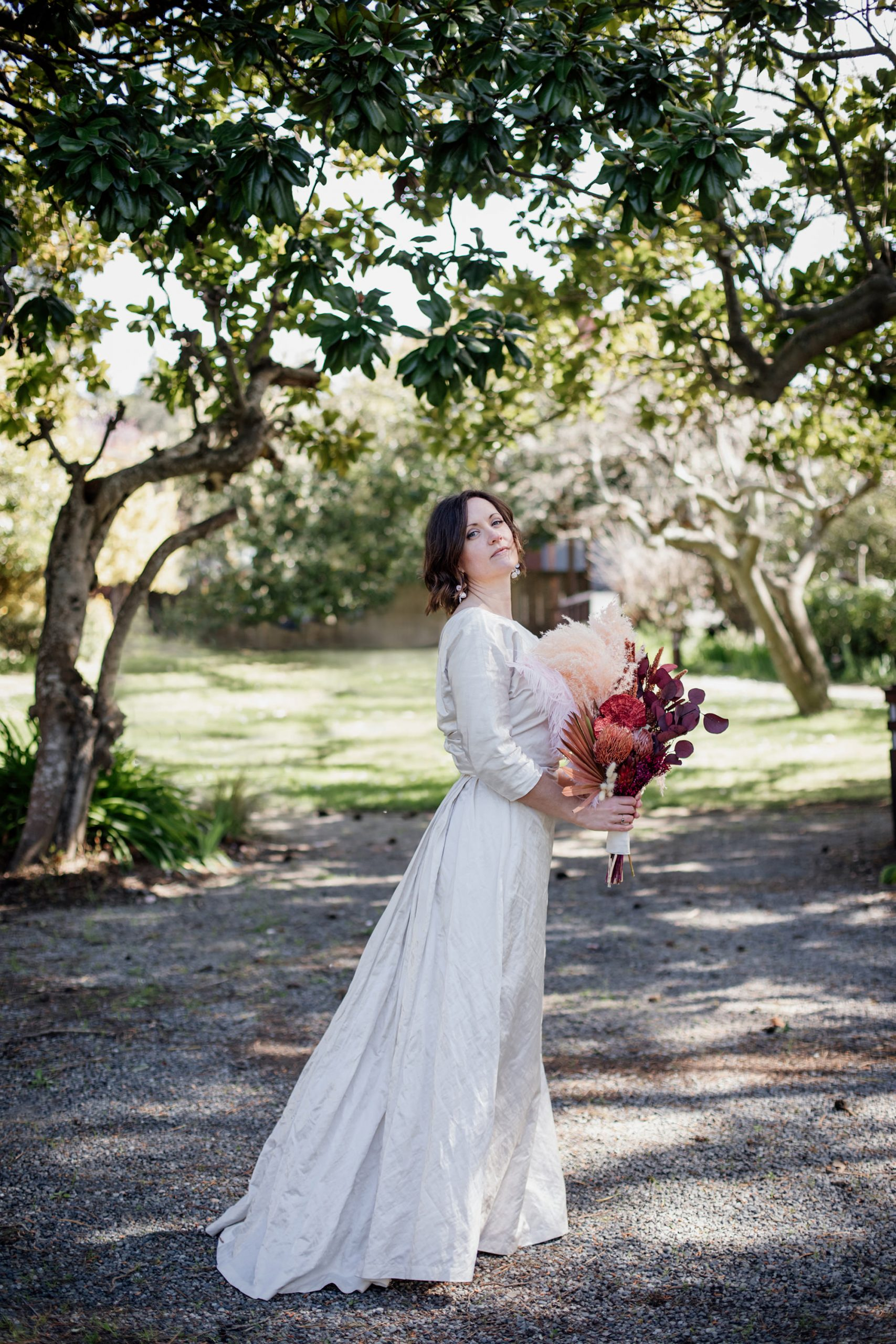 Bride portrait at Olema House