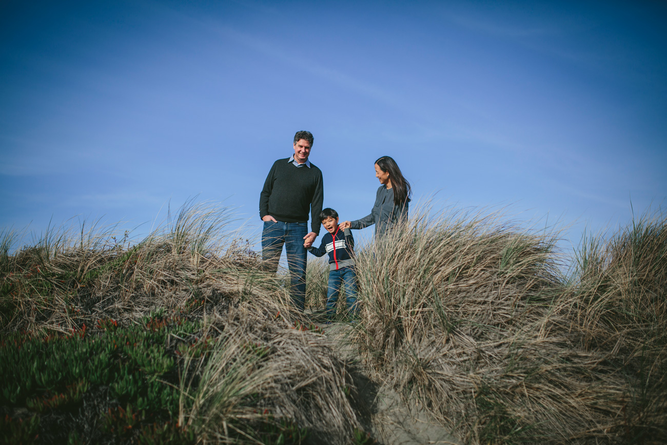 Becca Henry Photography- Family beach time! Family portraits at Ocean Beach.