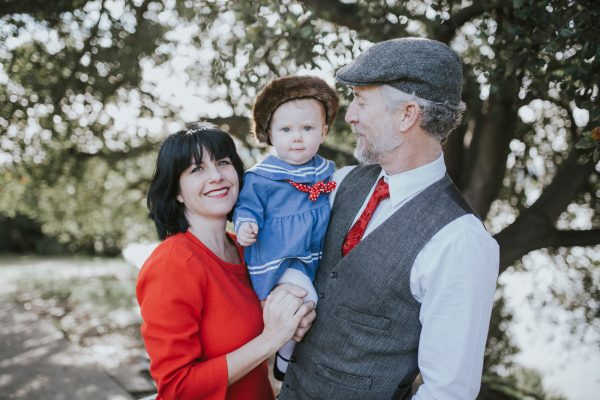 Becca Henry Family Portraits -vintage looking family photos- Lake Merritt Oakland