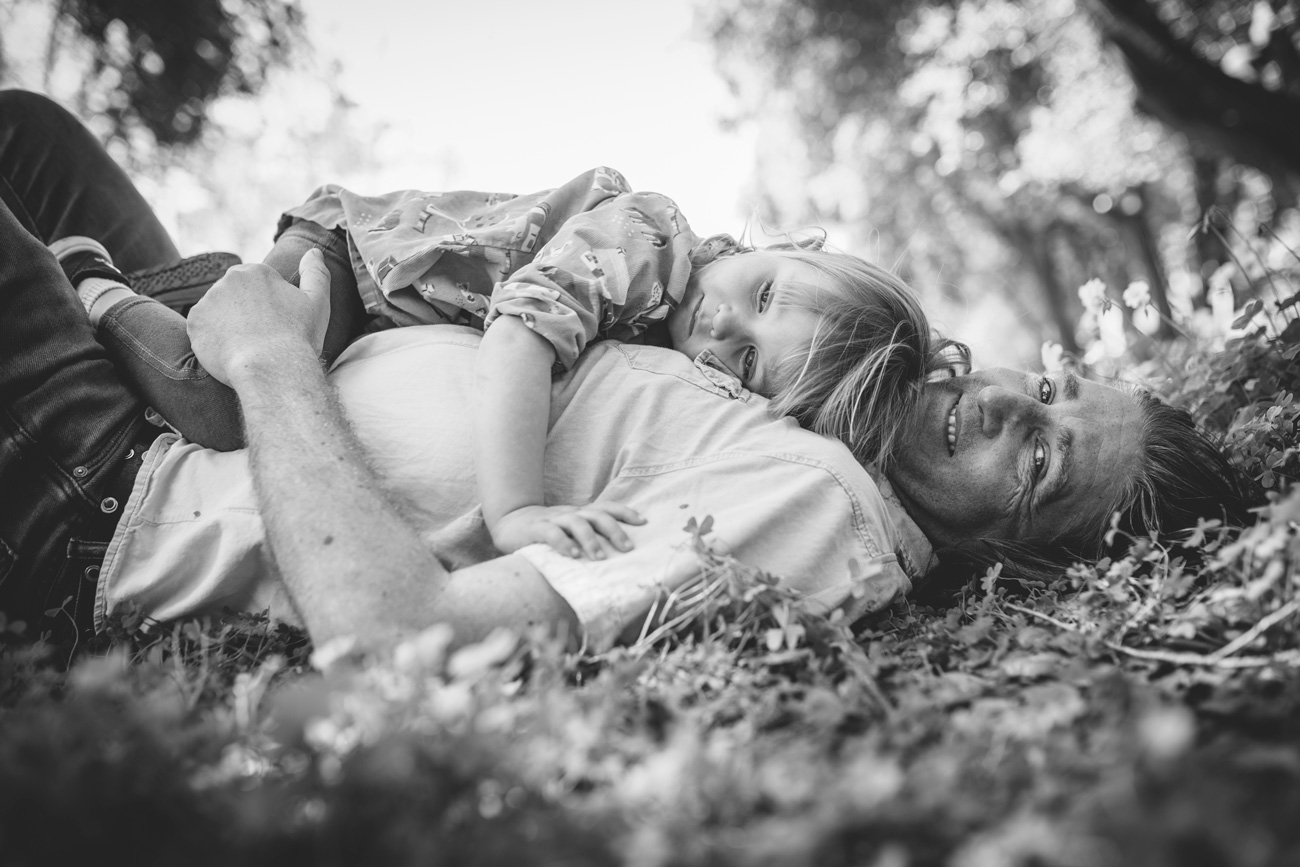 Becca Henry Family Portraits - daughter and dad time - Alameda