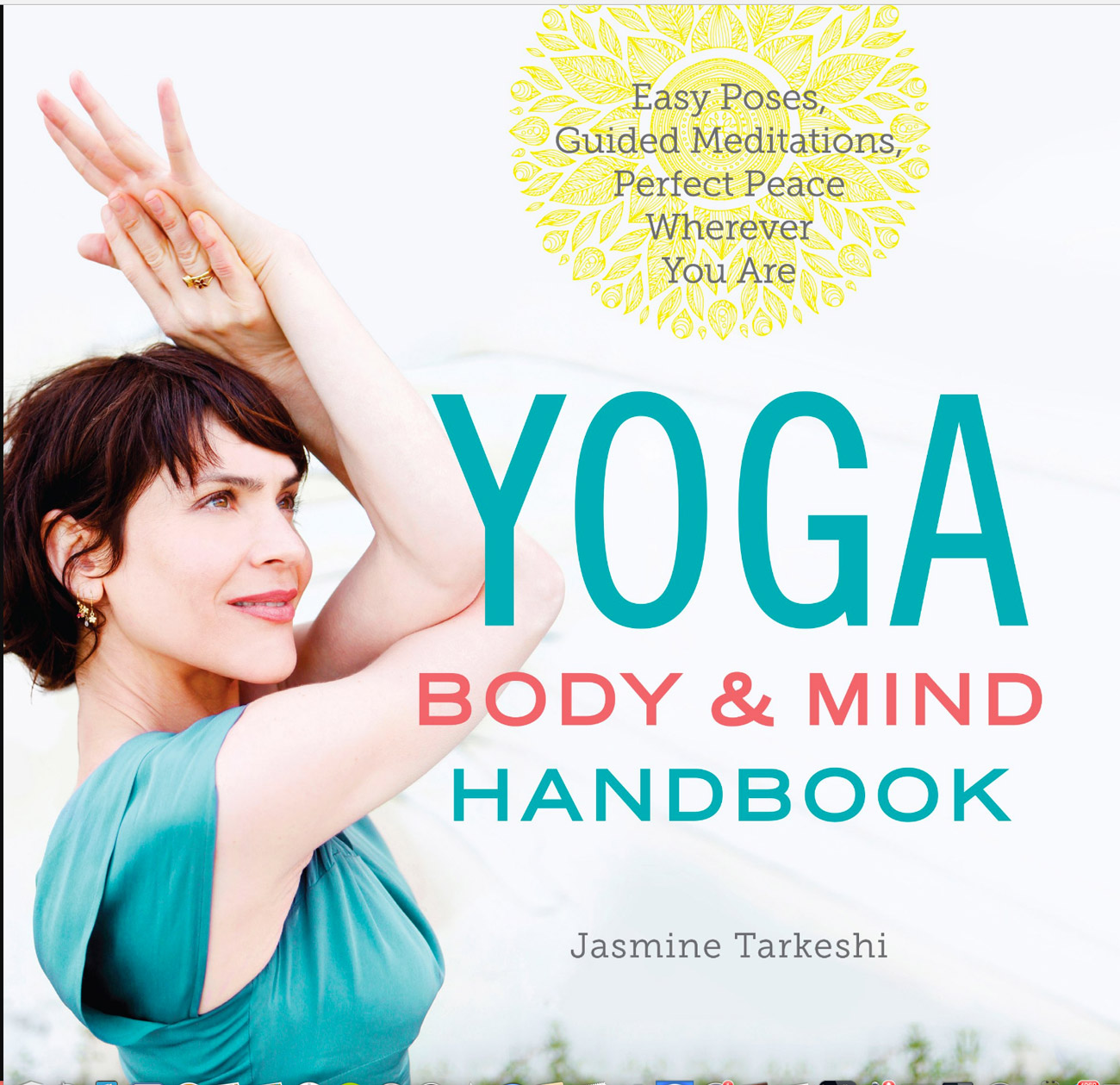 Becca Henry photography - photography for book cover - Yoga body and mind handbook- Yoga photography