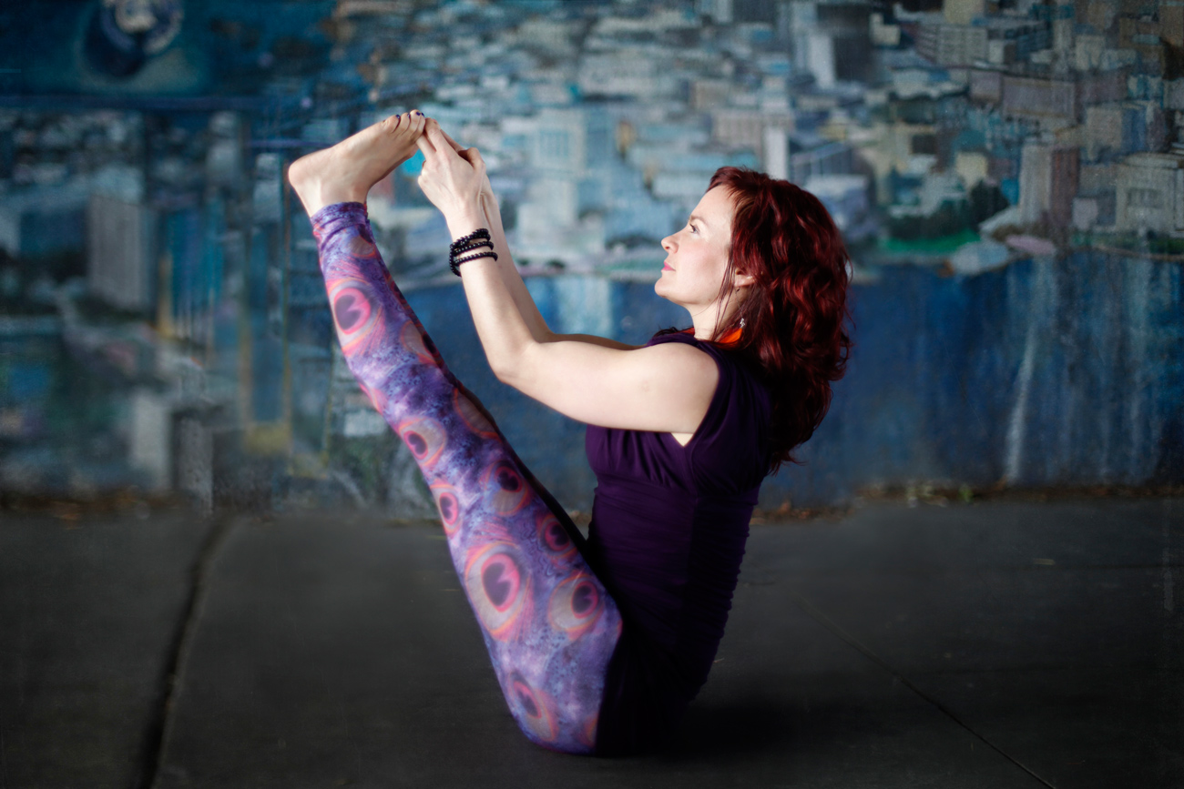 Becca Henry Photography- Visual Branding - -Creative photos for Oakland yoga teacher, Rosy Moon