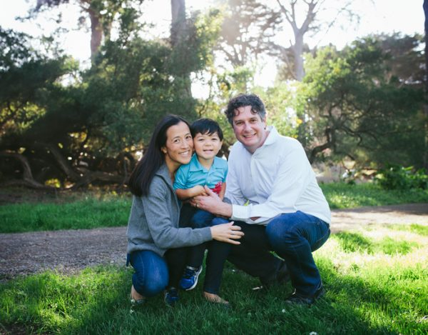 Becca Henry Photography- Family portrait -Golden Gate Park San Francisco