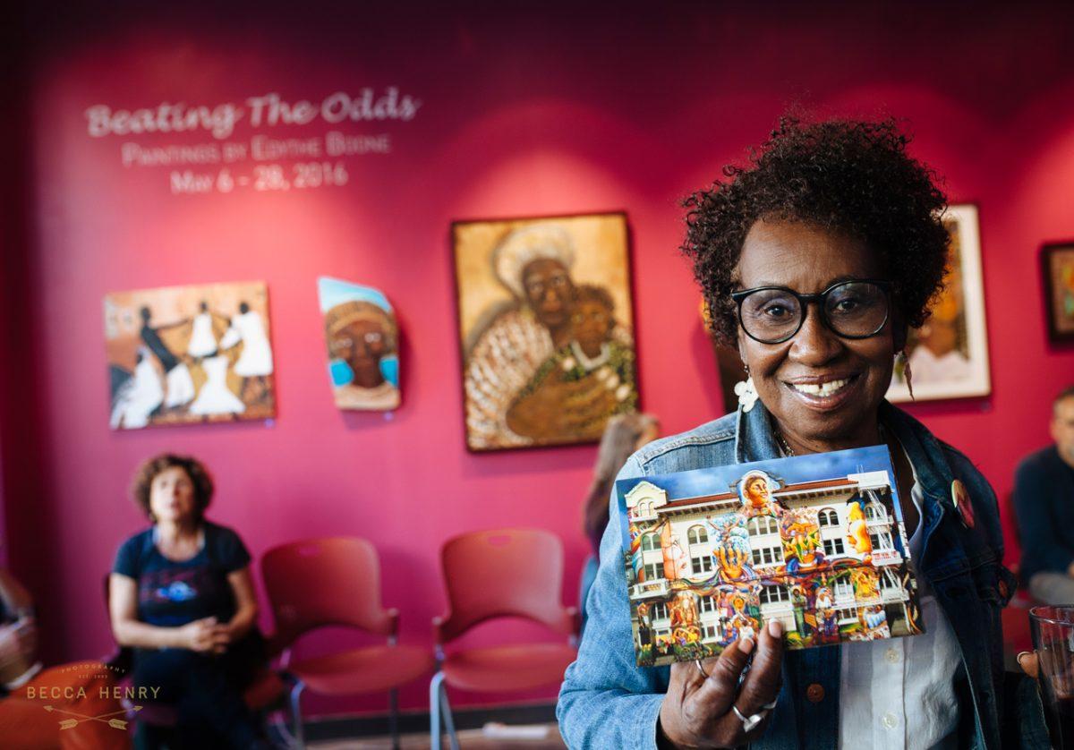 Becca Henry Photography - Edythe Boone muralist, artist, activist