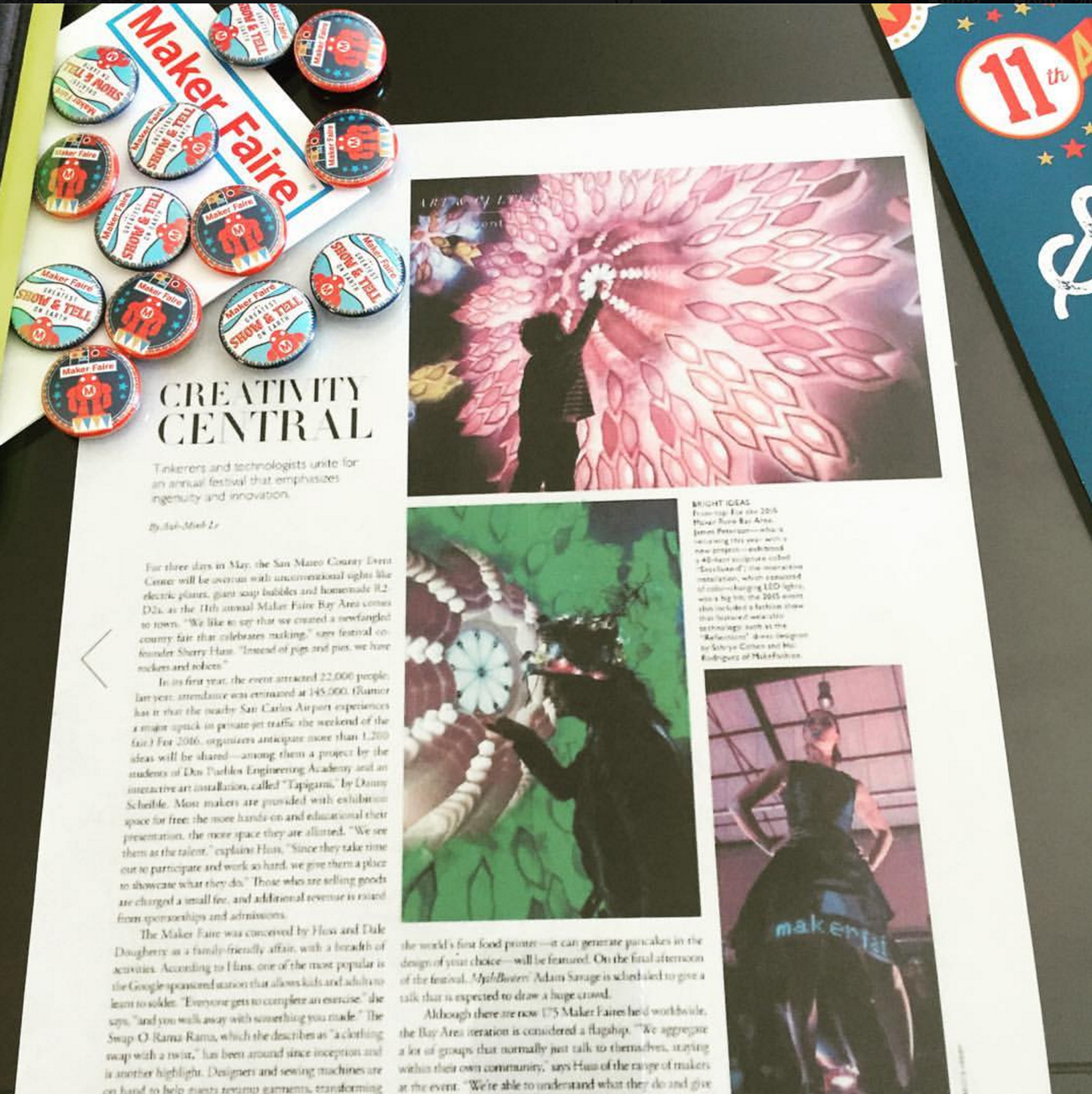 Becca Henry Photography -Article on Maker Faire about James Peterson's work