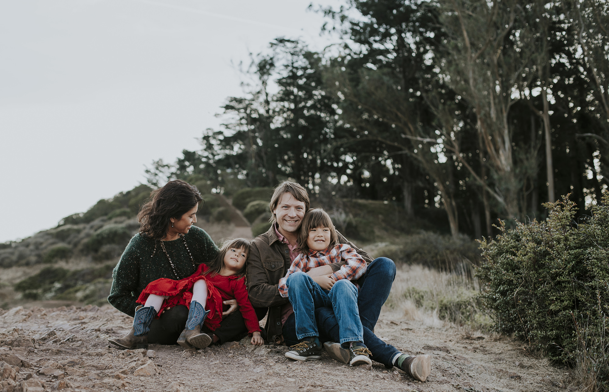 San Francisco Family Photography at Mt Davidson with Vanessa & Matt by Becca Henry Photography