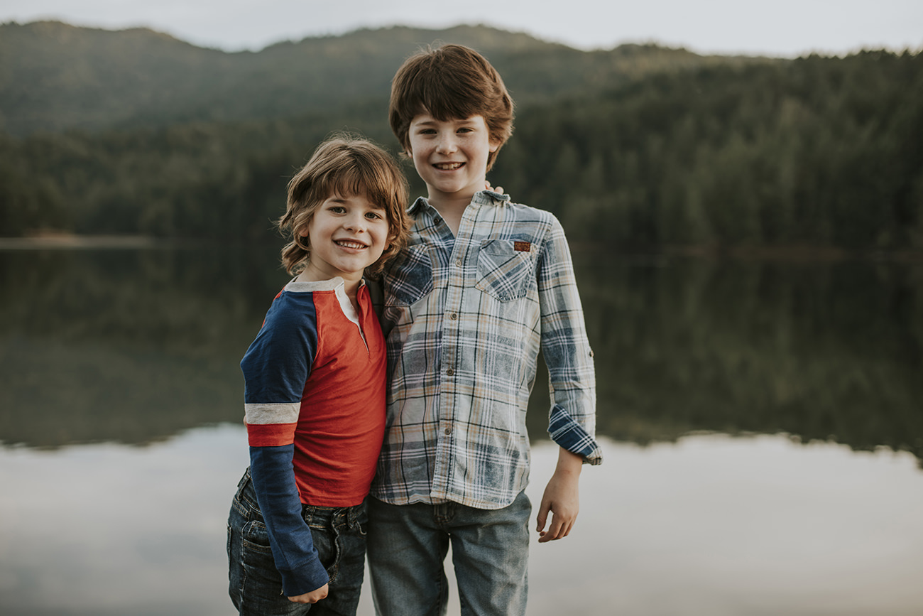 Lake Lagunitas Family Photo Session - Becca Henry Photography